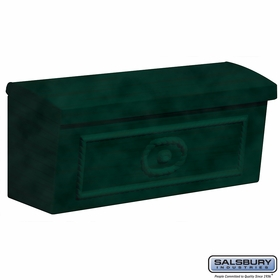 Salsbury 4560GRN Townhouse Mailbox Surface Mounted Green