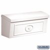 Salsbury 4560WHT Townhouse Mailbox Surface Mounted White