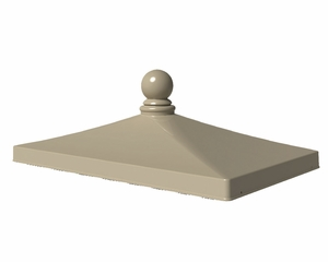 Traditional Style Finial Cap for 1570-V2 CBU Mailboxes