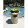 "Trash Receptacle 21"" in Tan Color"