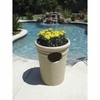 "Trash Receptacle 22"" in Sandstone Color"