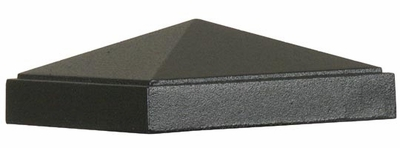 TSB12 Post Toppers - Square Cap- Fits 4 inch Square Poles