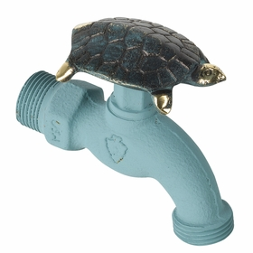 Whitehall Turtle Faucet (Solid Brass) - Verdigris Finish