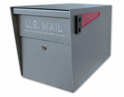 Ultimate High Security Locking Mailbox in Granite