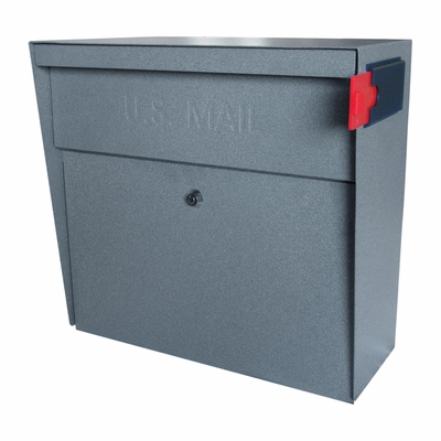 Ultimate High Security Locking Metro Wall Mount Mailbox in Granite