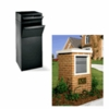 Ultimate High Security Parcel Locking Mailbox for Residential Estate - Black