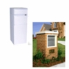 Ultimate High Security Parcel Locking Mailbox for Residential Estate - White