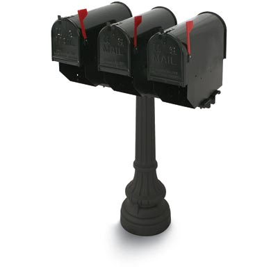 Underwood Multiple Colonial Steel Mailboxes