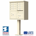 Cluster Box Units for Centralized Mail Delivery