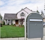 USPS Bobi Classic Grey Front Access Mailbox (Post Sold Separately)