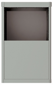 Vario Depot Mail Kiosk - 6 Door High for Double Column 4C Mailbox