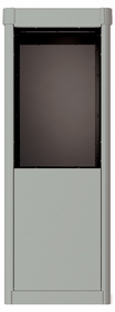 Vario Depot Mail Kiosk - 7 Door High for Single Column 4C Mailbox
