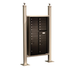 Vario Express I Mail Station / Standard (4C Mailboxes sold Separately)