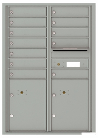 12 Door High Front Loading 4C Mailboxes (44-1/4 in. High)