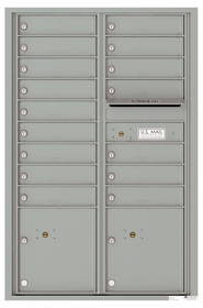 13 Door High Front Loading 4C Mailboxes (47-3/4 in. High)
