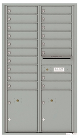 15 Door High Front Loading 4C Mailboxes (54-1/3 in. High)