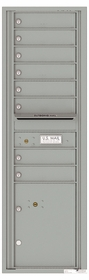 Versatile Front Loading Commercial Mailbox with 8 Tenant Doors and 1 Parcel Locker
