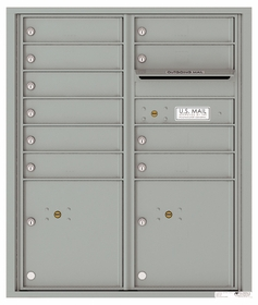 ADA Max Height Front Loading 4C Mailboxes (37-1/4 in. High)