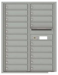 11 Door High Front Loading 4C Mailboxes (40-3/4 in. High)