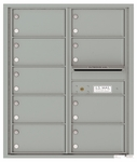 10 Door High Front Loading 4C Mailboxes (37-1/4 in. High)