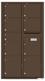 Max. Height Rear Loading 4C Mailboxes