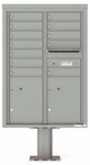 4C Pedestal Mailboxes 12 Doors High