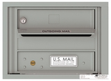 4C Front Loading Horizontal Mailboxes 1 to 2 Doors