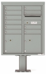 ADA Compliant Units 4C Pedestal Mailboxes