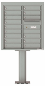 4C Pedestal Mailboxes 9 Doors High