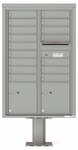 4C Pedestal Mailboxes 13 Doors High
