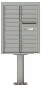 4C Pedestal Mailboxes 11 Doors High