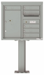 4C Pedestal Mailboxes 7 Doors High