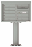 4C Pedestal Mailboxes 5 Doors High