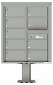 4C Pedestal Mailboxes 10 Doors High