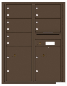 11 Door High Rear Loading 4C Mailboxes
