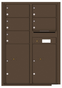 12 Doors High 4C Mailboxes Rear Loading