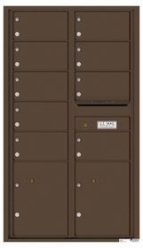 15 Doors High 4C Mailboxes Rear Loading