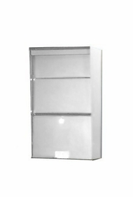 Vertical Stainless Steel Wall Mount Letter Locker