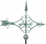Vict. Arrow - Polished Weathervane