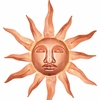 Medium Sun Face - Polished Copper - 24""