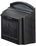 Whitehall Wall Mailbox Removable Locking Insert - Black