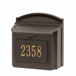 Custom Non-Locking Wall Mount Mailboxes