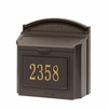 Wall Mailboxes - Non-Locking, Locking, & Mail Slots