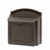 Whitehall Wall Mailbox with Removable Locking Insert - Bronze
