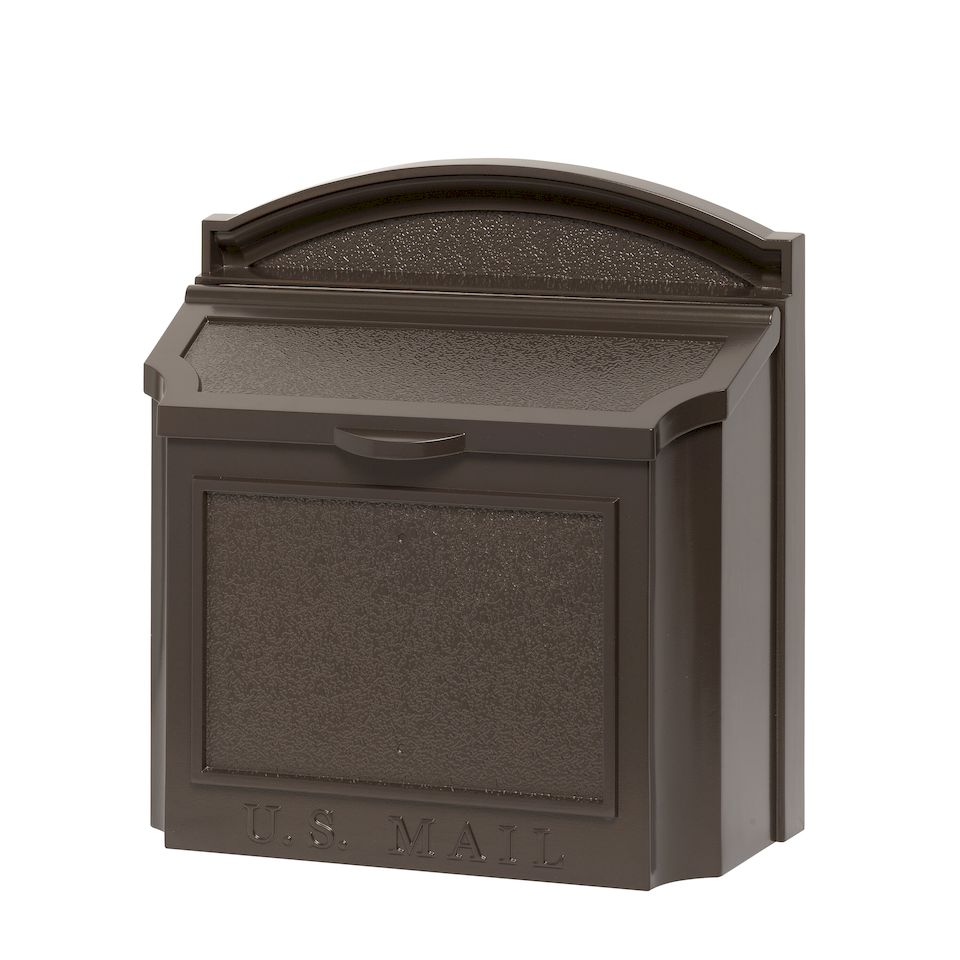 Whitehall Products Wall Mailbox With Removable Locking