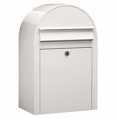 USPS Bobi Classic White Front Access Lockable Mailbox