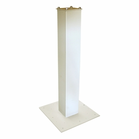 White Surface Mount Post Package