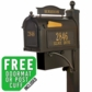 Whitehall Ultimate Mailbox Package in Bronze