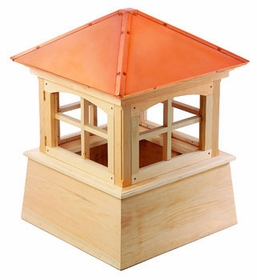 "Wood"" Huntington Cupola 22"" Sq X 30"" H"
