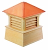 "Wood Manchester Cupola 18"" Sq X 22"" H"